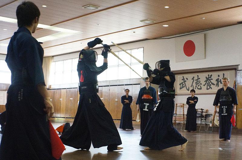 Тренировки в Японии