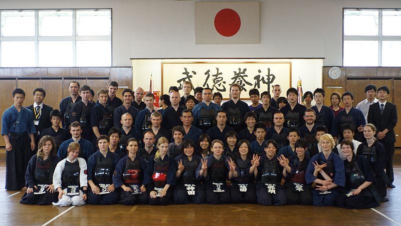 Члены клуба в составе делегации в Японии